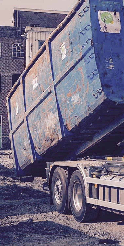 Plaatsing containers - Van Rijssen Oud Ijzer Veenendaal